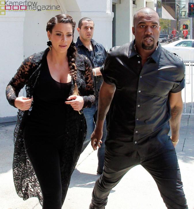 KIm KardashianKanyeWest-Beverly Hills