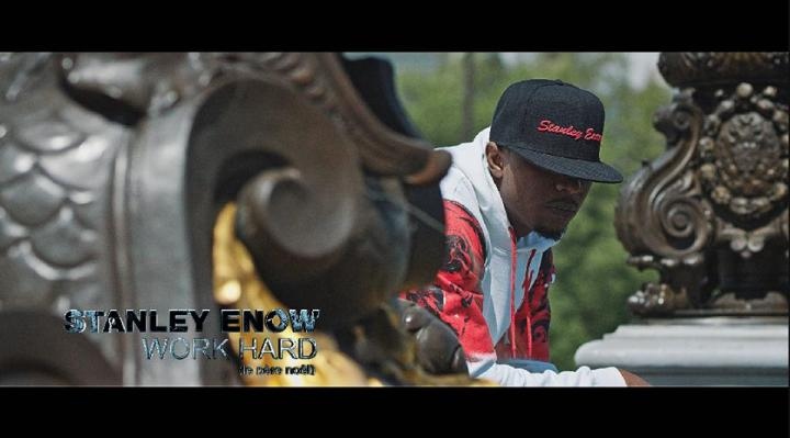 Word Hard Video shot- Stanley Enow