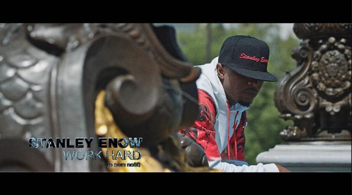 Word Hard Video shot- Stanley Enow