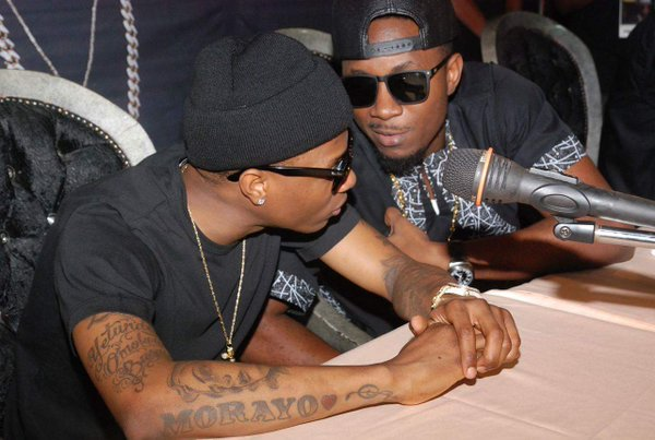 WizKid and Stanley Enow