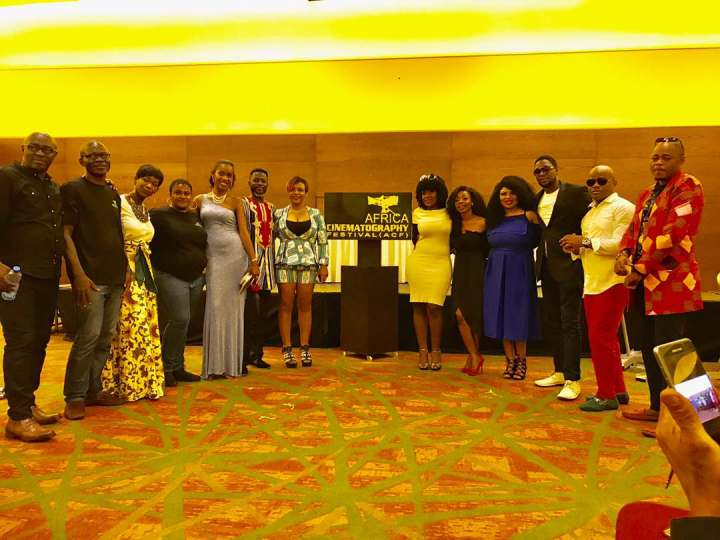 African Cinematography Festival ambassadors