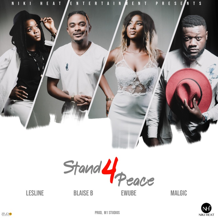 """Lesline, Blaise B, Ewube And Malgic Join Their Voices For Peace In Cameroon On """"Peace Day"""""""