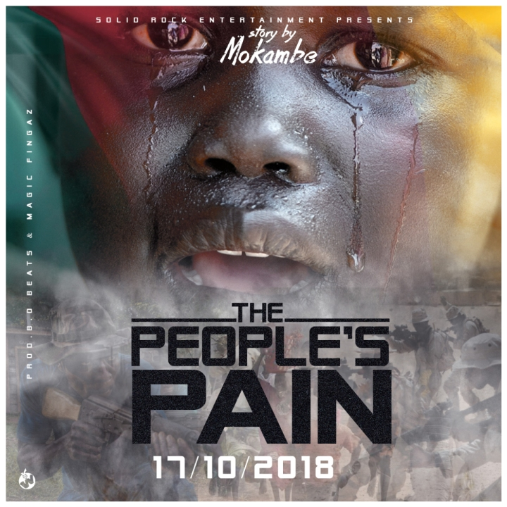 """Music: Mokambe joins hundreds of other Cameroonian artistes begging for peace in his new song """"The People's Pain"""""""